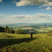 Widok z Wataszki na Kotlinę Kłodzką